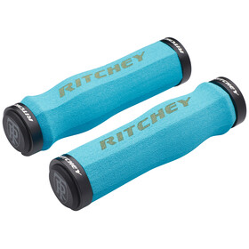Ritchey WCS Ergo True Grip Griffe Lock-On blue